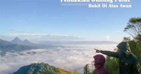 Karpet Gunung pendakian gunung pulut bukit di atas awan sobriyaacob