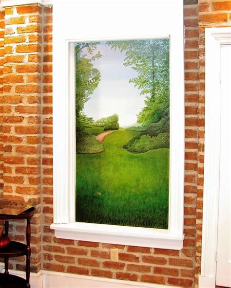 faux window painting decorative glass solutions custom stained glass custom