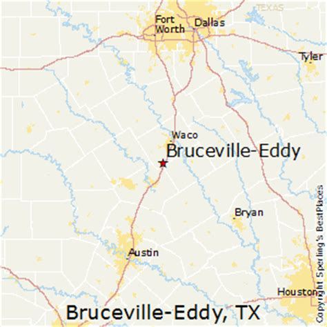 eddy texas map best places to live in bruceville eddy texas