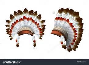 Native american feathered headdress