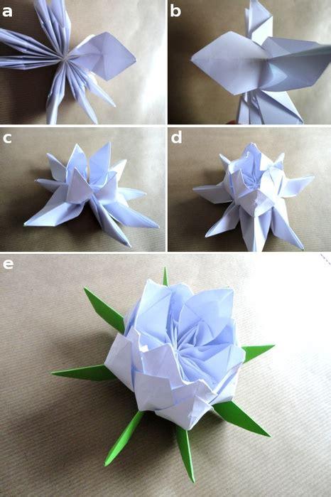 Origami Lotus Flower Pdf - origami lotus 199 i 231 e茵i yap莖m莖 hobi fikirleri yarat莖c莖 el