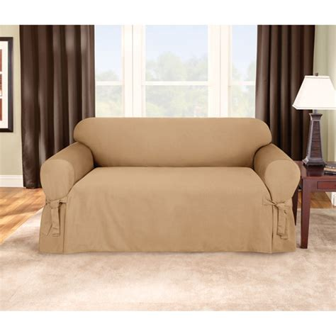 walmart loveseat covers sure fit logan sofa slipcover walmart com
