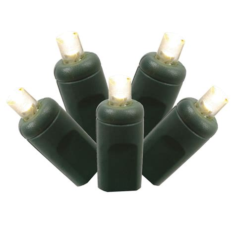 vickerman 17575 150 light green wire warm white 8 x 2