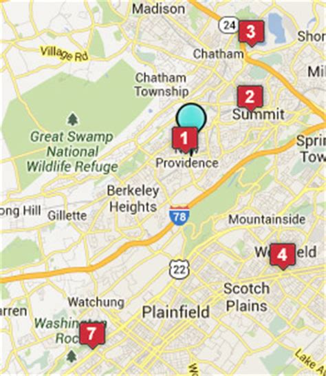 map of new providence new providence nj hotels motels see all discounts