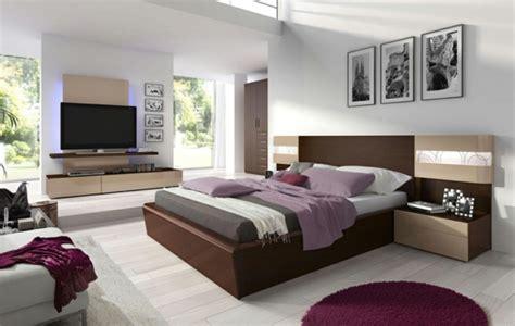 schwarze vorhänge schlafzimmer idee modern