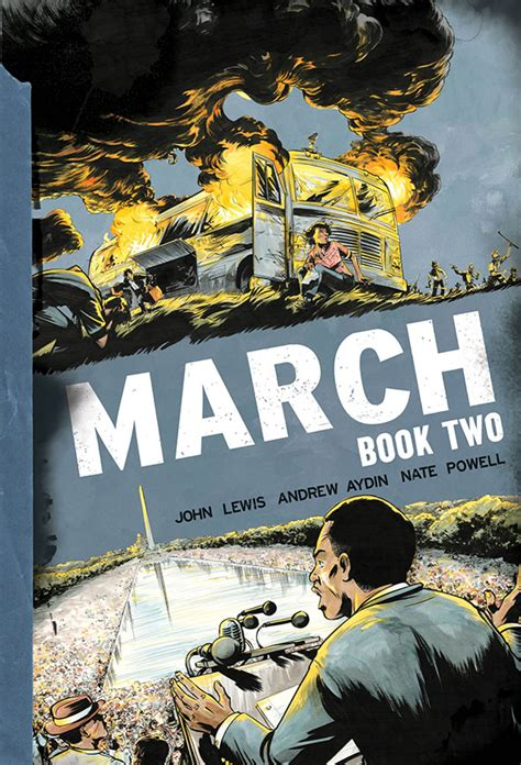 march trilogy slipcase set march book three wins 2016 national book award previews