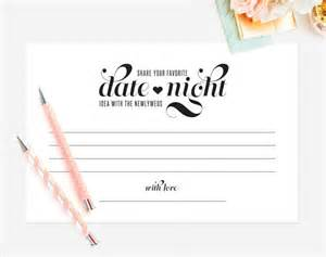 Advice To The Bride And Groom Cards Date Night Idea Date Night Card Wedding Keepsake Idea Card Wedding Advice Card Marriage