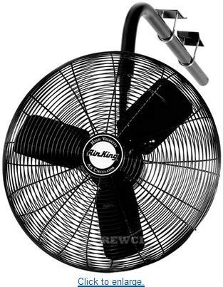 Sale Sekai Hfn 1060 High Velocity Fan 2 In 1 Murah 24 quot air king industrial oscillating fani beam mount