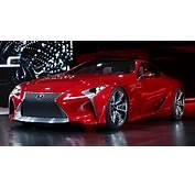 Lexus LF LC Sports Coupe Concept Bows At The Detroit Auto