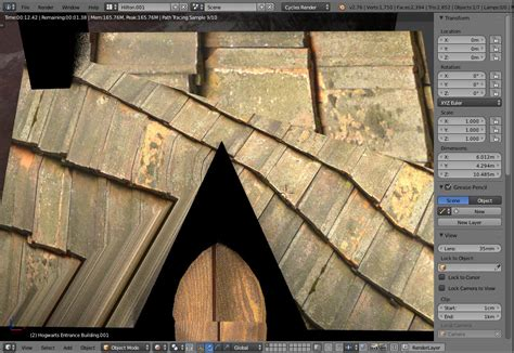 why do i cycles on my roof texturing why do materials textures look different in