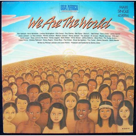 quincy jones we are the world we are the world grace usa for africa michael jackson