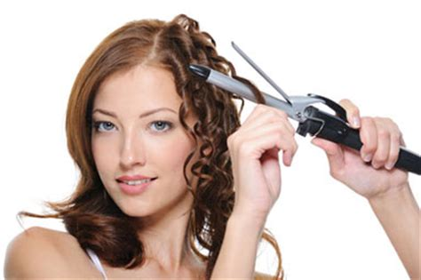 treat damaged hair from curling iron choosing a curling wand or iron tips barrel sizes