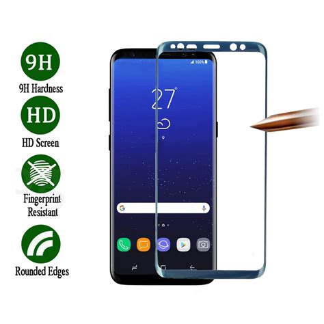 Grosir Soft Anti Samsung C7 Pro 3d soft curved edge screen coverage tempered glass screen protector for samsung galaxy s8
