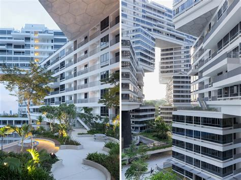singapore apartments the amazing interlace housing complex in singapore