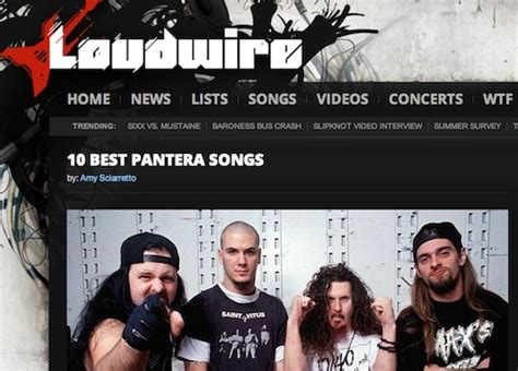 pantera best songs loudwire sciarretto writer