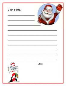 Free dear santa letters dear santa letters