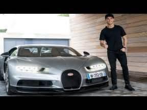 Ronaldo Vs Bugatti Veyron Inside Cristiano Ronaldo S Cars 2017 Bugatti Chiron