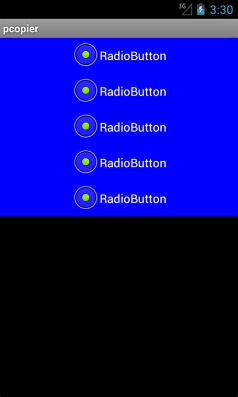 work of layoutinflater in android android radiobuttons misbehaving on emulator only stack