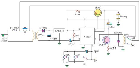 car battery charger diagram schematic auto battery charger circuit electronic circuit diagram