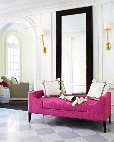 divano rosa un divano rosa per un tocco di vita nel salone