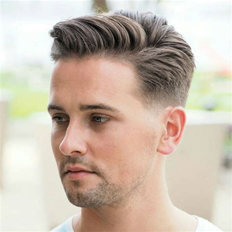 long hair witj side fade 30 low maintenance haircuts for men men s hairstyles