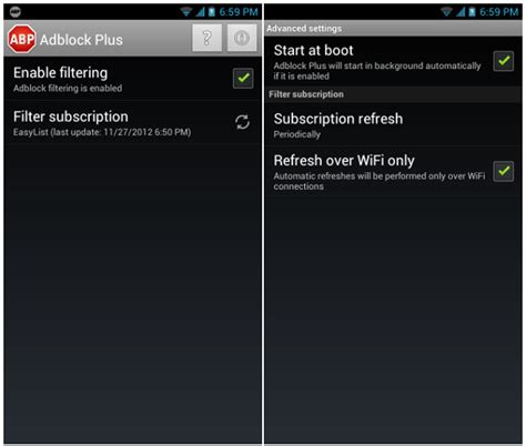 adblock plus for android adblock plus for android released blocks ads in mobile browsers and apps
