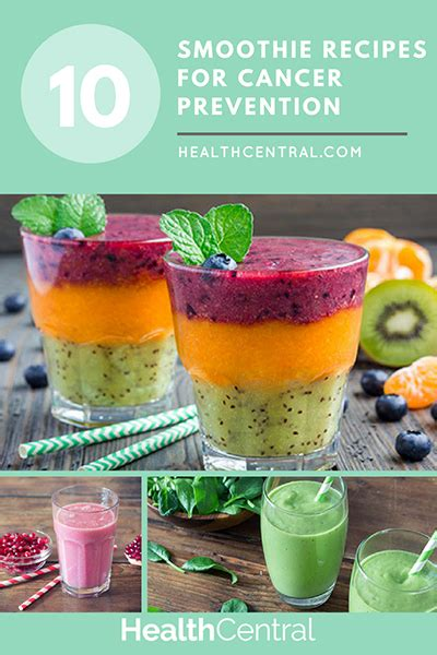 Detox Cancer Preventing Smoothie by 10 Juice And Smoothie Recipes For Cancer Prevention