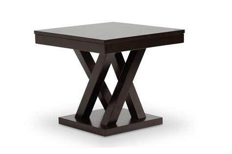 baxton studio everdon sofa table baxton studio sa109 side table everdon brown modern