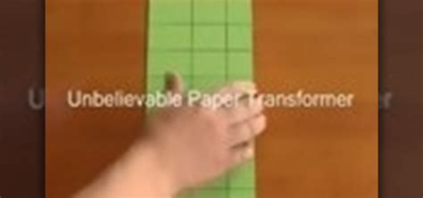 How To Make A Paper Toys - how to make a paper transformer 171 papercraft