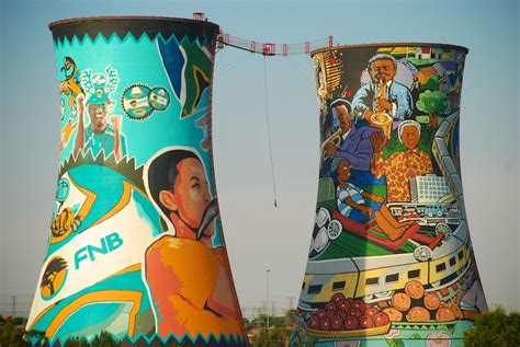 Sprei My Orlando the orlando cooling towers in soweto south africa