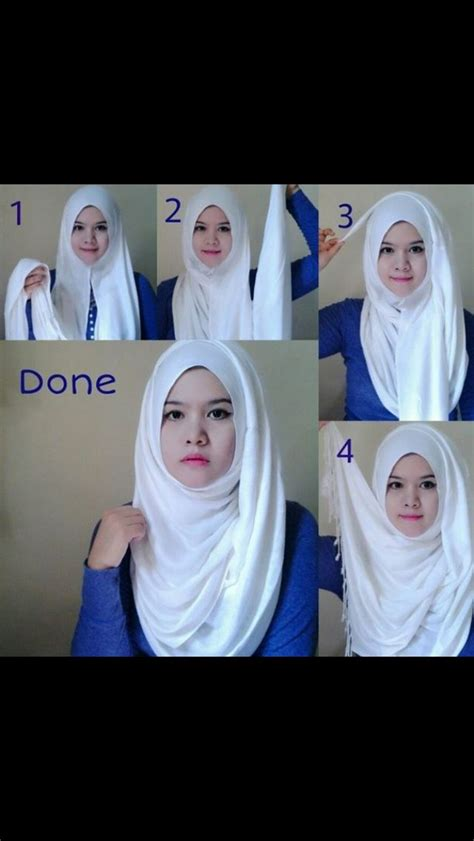 tutorial pashmina double 8 best borkha images on pinterest hijab outfit hijab
