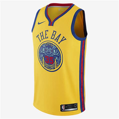 Jersey Basket Nba Nike Kevin Durant Icon Edition Swingman Jersey kevin durant city edition swingman jersey golden state warriors s nike nba jersey nike ae