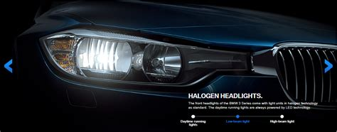series lights 3 series lci halogen and led headlights compared