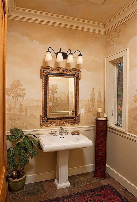 beautiful powder rooms