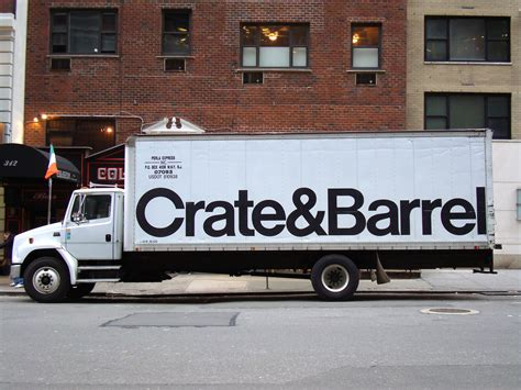 crate and barrel crate barrel fonts in use