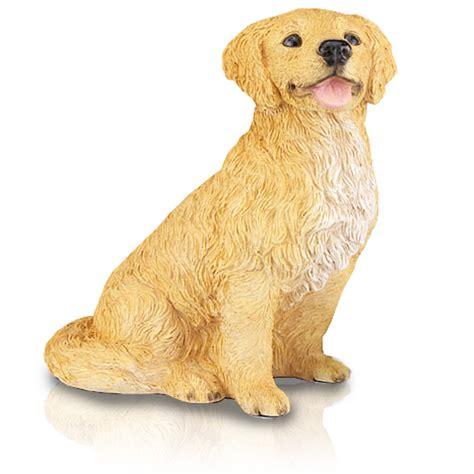 golden retriever figurine figurine urns golden retriever