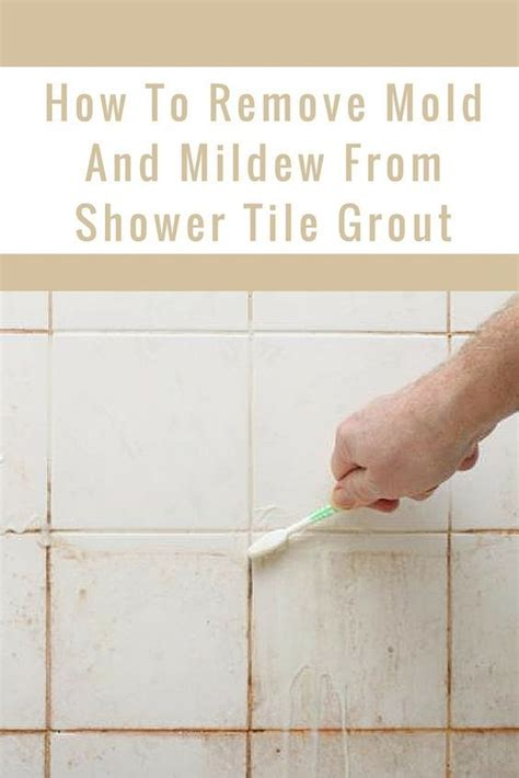 Cleaning Grout In Shower 1000 Ideas About Remove Mold On Pinterest Cleaning Mold Mildew Remover And How To Kill Mold