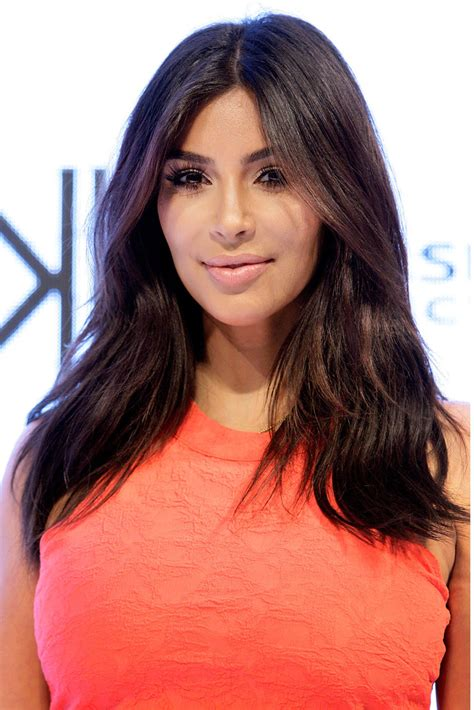 kim kardashian lookbook style evolution kim kardashian long center part kim kardashian looks