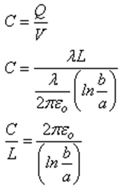 cylindrical capacitor derivation physicslab spherical parallel plate and cylindrical capacitors