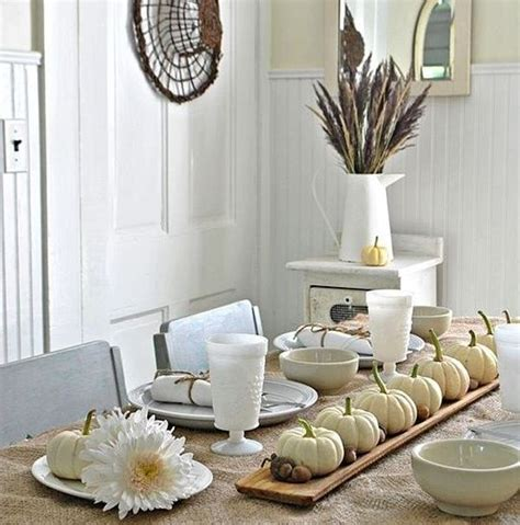 table decor items 30 natural thanksgiving decor ideas