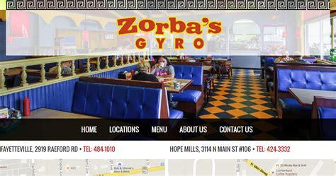 zorbas gyro portfolio biz tools  web design