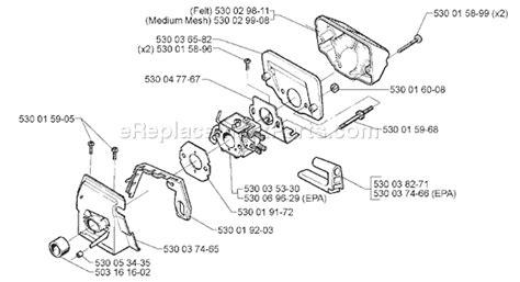 Husqvarna 136 Parts List And Diagram 1998 09