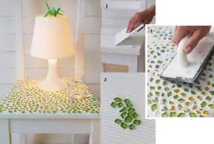 Easy Handmade Crafts Ideas - diy easy mosaic table fabdiy