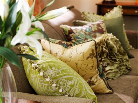 brown couch pillow ideas pillows decorative throw and accent pillow ideas hgtv