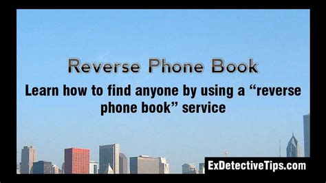reverse phone book find   owner   phone