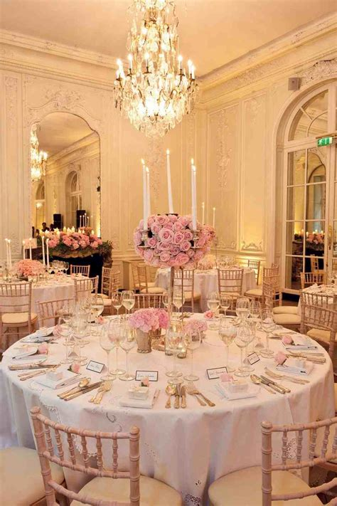 Light Pink Wedding Centerpieces   siudy.net