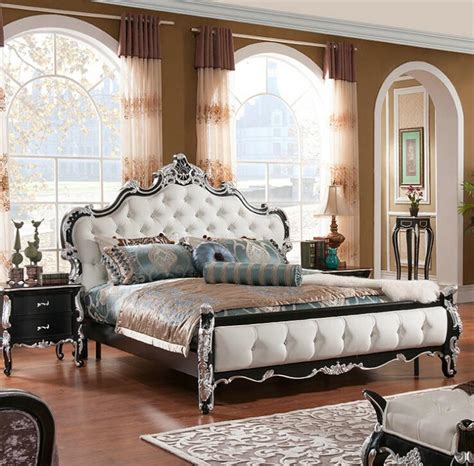 Discount Modern Bedroom Furniture - factory price royal bed fashion european french carved bed furniture 1 8 m bed 7574 online with