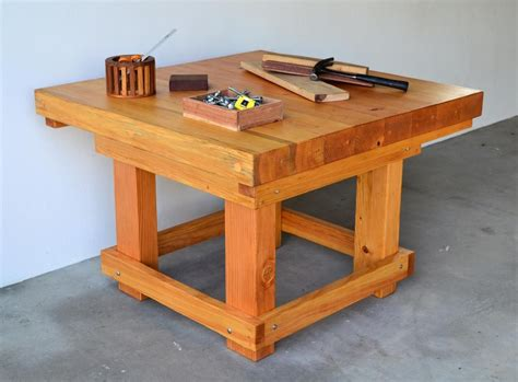 The Heavy Table by Work Shop Table Plans Diy Free Kitchen Island