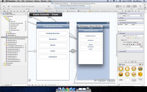 xcode layout button ios5 ios simulator looks different from the layout on