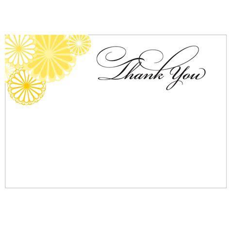 Thank You Note Template Printable Search Results For Thank You Note Printable Template